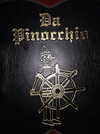 Da Pinocchio : Menu :)