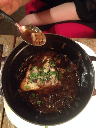 Chez Dupont and The Stone Soup Cafe: French Onion Soup