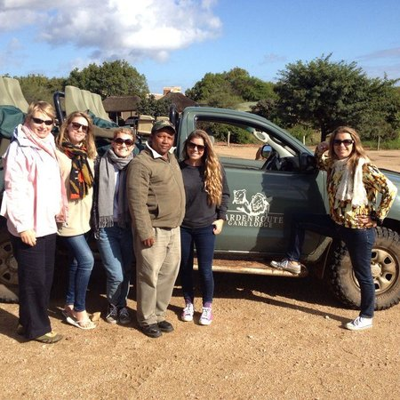 Garden Route Game Lodge: Game Drive with AJ our driver