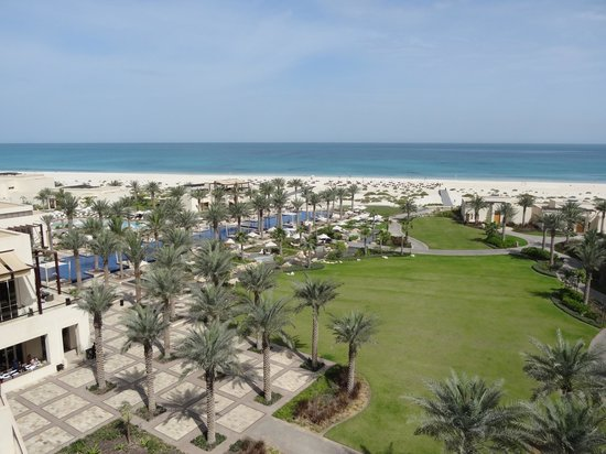 Park Hyatt Abu Dhabi Hotel & Villas: View from the room