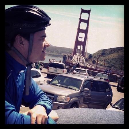 Golden Gate Bridge : Crossing the bridge