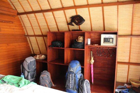 Manta Dive Gili Air Resort : Stauraum