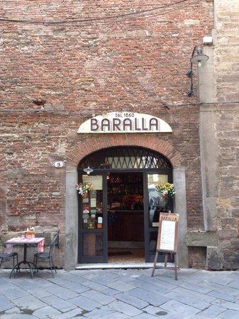 Osteria Baralla: L'ingresso