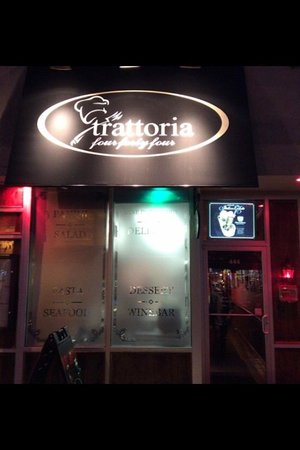 Trattoria Four Forty Four: Store Front