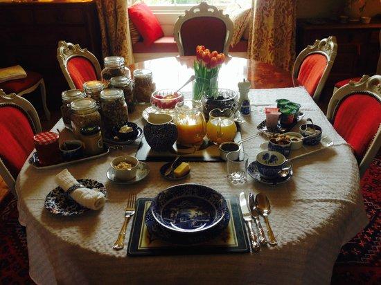 Hanover House: Breakfast - wow!