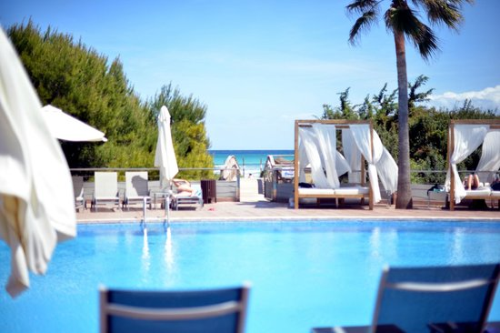 Be Live Collection Palace de Muro: The hotel is right on the beach