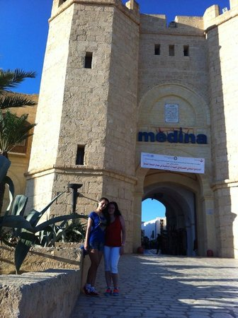 Saphir Palace & Spa: The medina