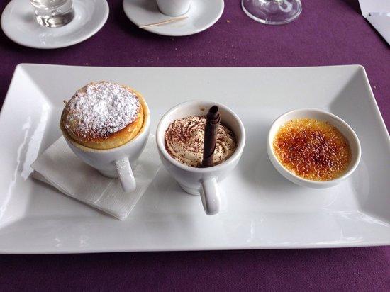 Restauracja Hotel Tumski - desery menu degustacyjne