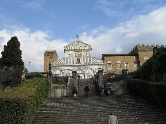 Basilica San Miniato al Monte : Abbazia di San Miniato al Monte, Florenz April 2014 - 1