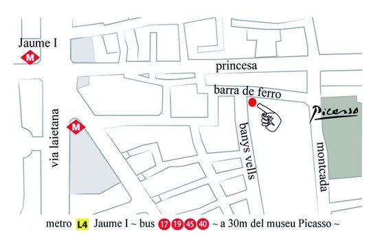 La Casa Vella - Flamenco en Barcelona: Where is LA CASA VELLA - FLAMENCO IN BARCELONA -?