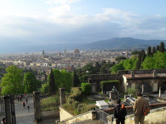Basilica San Miniato al Monte : Abbazia di San Miniato al Monte, Florenz April 2014 - 5
