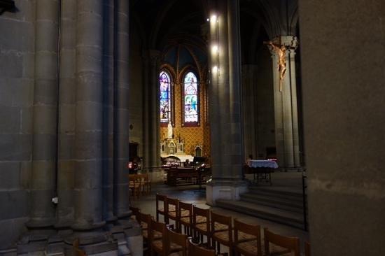 Notre Dame Basilica : inside