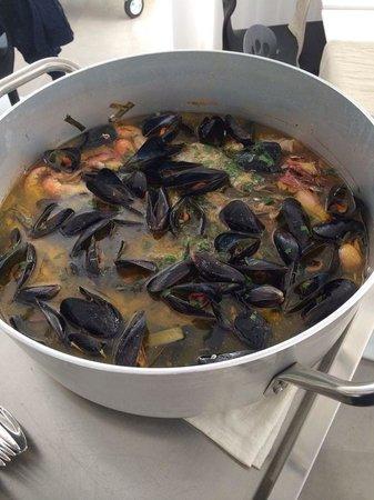 Quihotel : cavatelli fagioli e frutti di mare