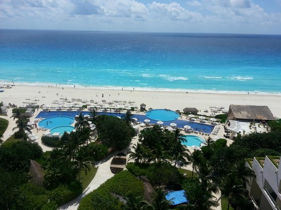 Live Aqua Beach Resort Cancun: 8th floor view