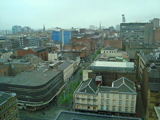 Premier Inn Glasgow City Centre Buchanan Galleries Hotel: View from 12 floor Hotel