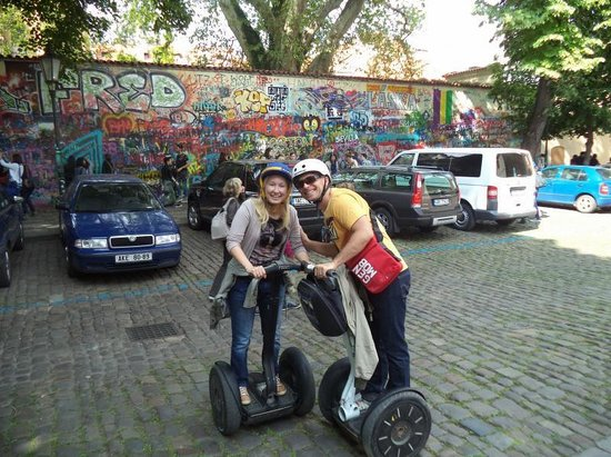 SEGWAY EXPERIENCE: Segway and E-Scooter Tours: Prague in Love