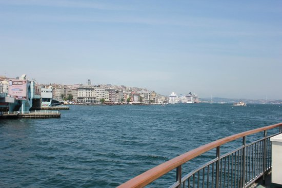 Bosphorus Strait: From the cruise