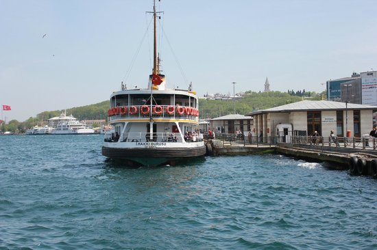 Bosphorus Strait: Boats