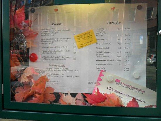NH Forsthaus Fuerth-Nuernberg: Schäufele Essen im Glücksschwein Wirtschaft Tip