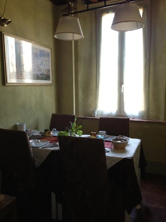 Il Mascherone: Our own personal eating area