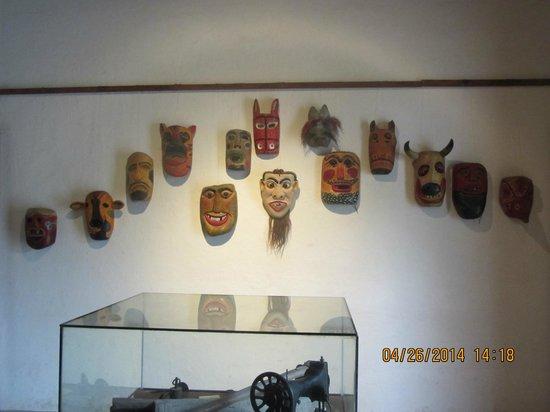 Gracias, Honduras: Lenca Indian masks