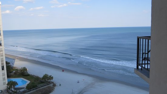 Hilton Myrtle Beach Resort: View from balcony