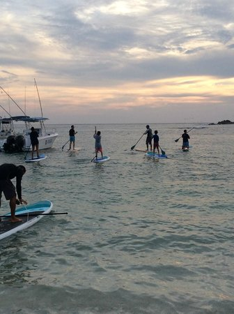 The St. Regis Punta Mita Resort: sunset paddle for the entire family to enjoy