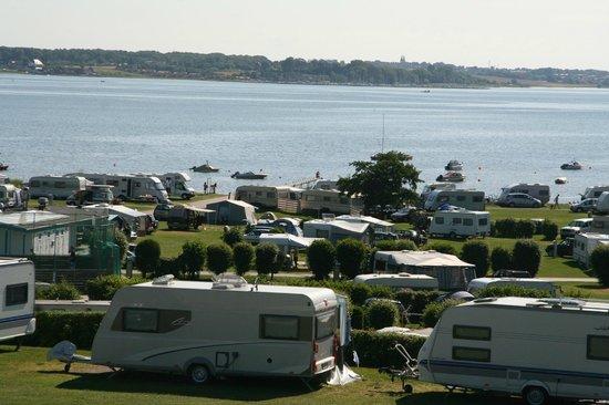 Laerkelunden Camping: Campingmed udsigt