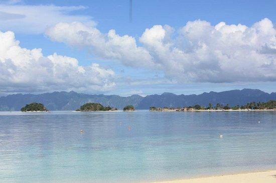 Malcapuya Island: from afar