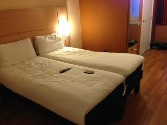Ibis London Blackfriars : Twin beds, really comfortable