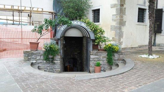 Vinoteka Brda: entrata vinoteka