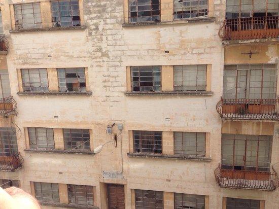 Tropicana Hotel : La vista dal nostro balcone