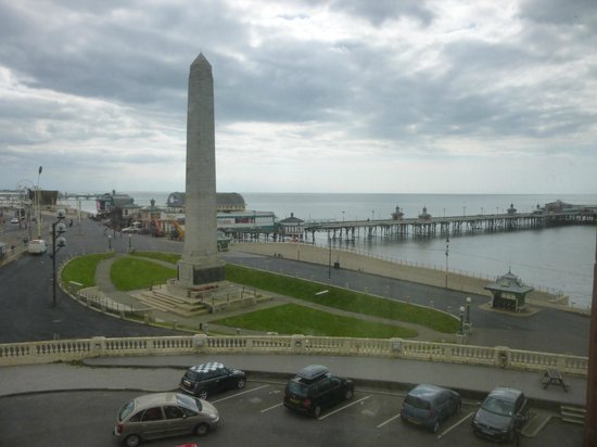 Grand Metropole Hotel: View from room 213