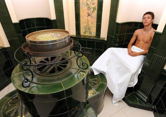 Hotel Komorni Hurka: Herbal sauna