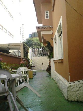 Pousada & Hostel São Paulo - Unidade 1 - Jardins: le patio