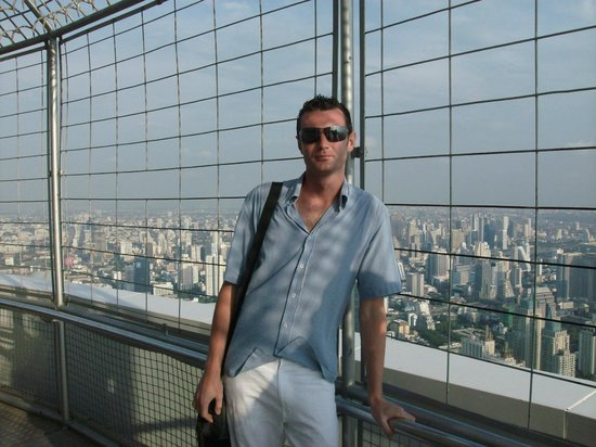 Baiyoke Sky Hotel: Смотровая площадка на крыше 309 метров