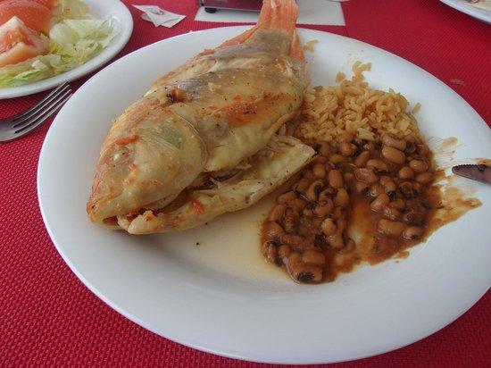 Hotel Blue Cove: la comida