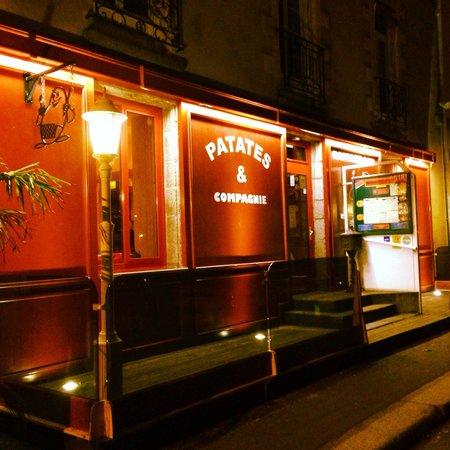 Patates Et Compagnie: Façade du restaurant