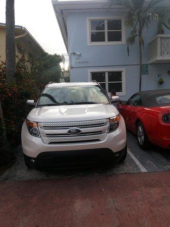 Playa de Oro: il nostro posto auto