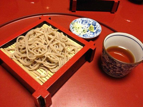 Shizukatei: 蕎麦