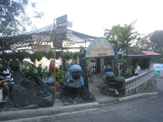 Entering The Pool Area From The Busay Road Picture Of Mountain View Nature S Park Cebu City