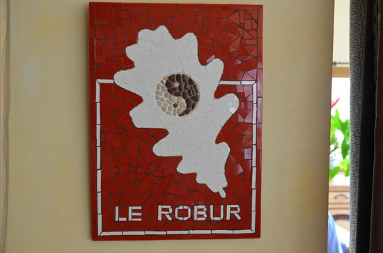 Auberge Le Robur Restaurant : Robur ou chêne
