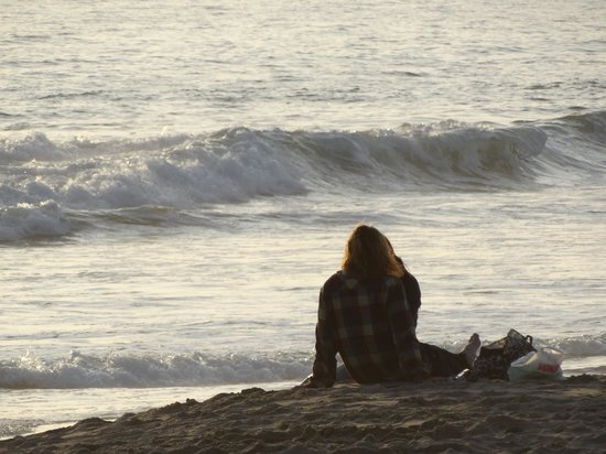 Ventura Beach Marriott : enjoying the sunset
