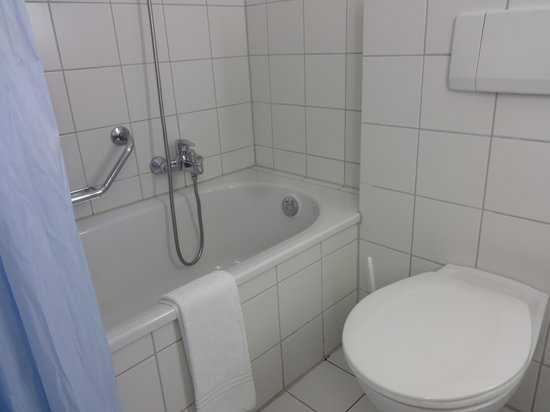Arcadia Hotel Bielefeld: Ванная