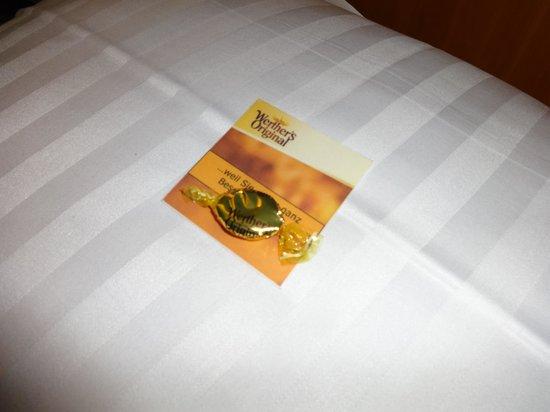 Arcadia Hotel Bielefeld: Комплимент