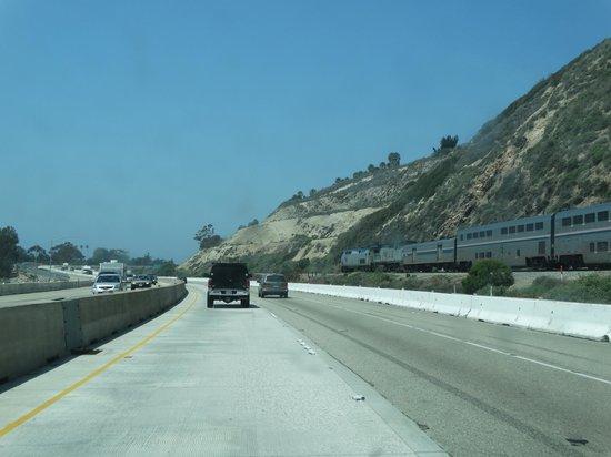 Ventura Beach Marriott: highway just south of Venture