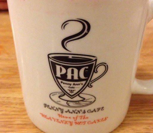 Penny Ann's Cafe: Coffee mugs