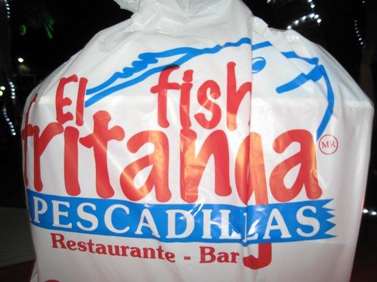El Fish Fritanga: leftovers