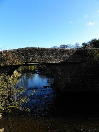 Riverside Bed and Breakfast: The bridge next to the garden