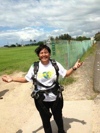 Hawaii Eco Divers & Surf Adventures: salto de paraquedas em Hawaii